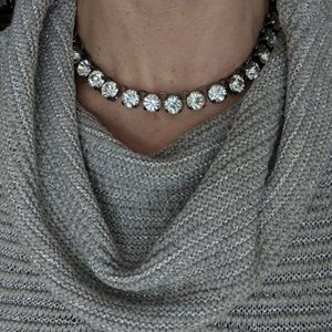 Jewelry - NWT Metal and Gemstone statement necklace
